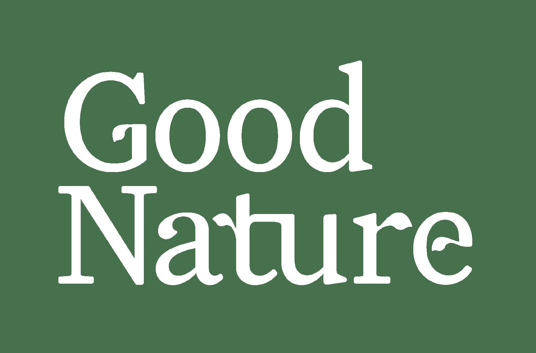 GoodNature_Logoytype_ClinicalWhite_RGB